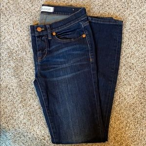 Madewell skinny skinny jeans. Size 25. Dark rinse